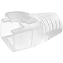 Simply45 S45-B003 Strain Reliefs for Shielded External Ground Pass Through and Standard RJ45 Mod Plugs - 100 Piece Bag