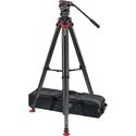 Sachtler 0395 System FSB 4 with Flowtech 75 Carbon Fiber Tripod and Mid-Spreader