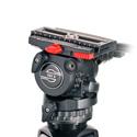 Sachtler 0707 FSB-8 75mm or FB - 5/5 Drag / Sideload Plate S / 1 Pan Bar