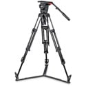 Sachtler Video 18 S2 Head System with ENG 2D Aluminum Tripod and Ground Spreader