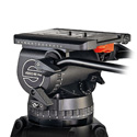 Sachtler Video 60 Plus EFP 150 mm 9 plus 9 Drag Touch & Go Plate 35 2 Telescopic Pan Bars