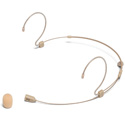 Samson DE60X Unidirectional Headset Microphone with Miniature Condenser Capsule - IP65 - Beige