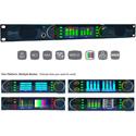 TSL Products SAM-Q-SDI Agile Audio Monitoring with SD/HD/3G-SDI/AES3id/Analog/Ethernet