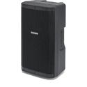 Samson RS110A 300Watt Active 10 Inch 2-way Loudspeaker with On-board Mixer & USB Wireless Mic Input - 60Hz-20kHz - Each