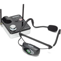 Samson SW9A9SQE-D AirLine 99m Wireless Fitness Headset System with Qe Fitness Mic (AH9-Qe/AR99m) - D Band