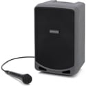 Samson Expedition XP106 100 Watt Portable PA with 6 Inch Woofer Bluetooth Wired HH Mic and Rechargeable Battery