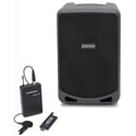 Samson XP106WLM Rechargeable Battery Powered Portable PA - 6 Inch 100 Watts with Bluetooth & LM5 Lav Mic