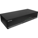 Smart AVI DPN-4DUO-S 4-Port Dual Head DisplayPort KVM Switch with USB 2.0 and Stereo Audio Support