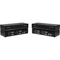Smart-AVI SDX-XT-4P-S 4K Quad Head DVI-D - USB 2.0 - Audio - CAT5/5e/6 Extender