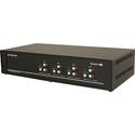Smart AVI SM-DVN-84X DVI-D Matrix KVM Switch with Audio and USB 2.0 Support (4 Users) - 8 Port