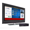 SmartAVI AP-SNCL-VHD4GS SignagePro HD Player with 4GB Flash Memory