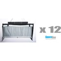 SpaceBox SBLED-STKT12-120-T LED Studio Twelve Kit - Tungsten Only - 120V