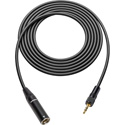 Sescom SC328T3MZLK TRS 3.5mm Locking Plug to 3-pin Mini XLR Analog Audio Cable- 328 Foot