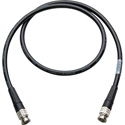 Laird SD6-BB3 Canare L-5CFW HD-SDI / SMPTE 424M RG6 BNC Cable - 3 Foot Black