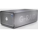 SanDisk Professional G-RAID 2 8TB 2-Bay RAID Array - 2 x 4TB - Thunderbolt 3 / USB 3.2 Gen 1