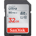 SanDisk SDSDUN-032G-GN6 32GB Ultra Class 10 SDHC UHS-I Memory Card Up to 80MB