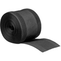 Secure Cord ASC5B 4 Inch x 16.5 Foot Trimmable Cord Ducting For Carpeted Surfaces - Black