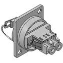 Senko UBC-181 UBC Adapter Panel LC Duplex MM(Beige) Fibre Optic Adapter
