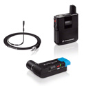 Sennheiser AVX-MKE2 SET-4-US Lavalier Set Pro: Bodypack Tx & EKP Plug-on Rx & MKE 2 Lavalier - Li-ion Battery Included