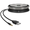 Sennheiser SP 20 Portable Speakerphone for UC Applications Compatible with Major UC and Softphone Brands