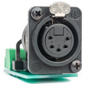 Sescom SES-ACON-1052 5-Pin XLR Female to 5-Position Fixed Screw Terminal Block PCB-Mounted Audio Adapter