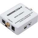 Sescom SES-ADDA1 Audio Converter - Bidirectional Coax/TOSLINK w/ Selectable Input