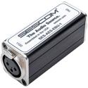 Sescom SES-AES-EBU-1 3-Pin XLR Female to 75 Ohm BNC Female AES/EBU Impedance Transformer