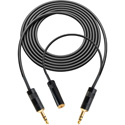 Sescom SES-BMP-FR-MON-3 Blackmagic Pocket Camera to Audio Recorder Cable w/H-Tap