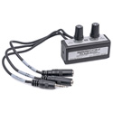 Sescom SES-EZ-MIX-01 Two-Channel Stereo Audio Mixer with Separate Volume Control - Two 3.5mm Inputs & One 3.5mm Output