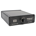 Sescom SES-MINI-4X1-6 Passive Audio Signal Splitter-4 Stereo 3.5mm Input Selection and Six 3.5mm Stereo Outputs