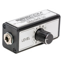 Sescom SES-MKP-33 Single Channel Inline Stereo Audio Headphone Level Control with 1/4 Inch TRS Connectors