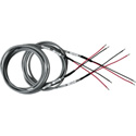 Sescom SES-SPKR-WIRE-06 High Quality Stripped & Tinned Speaker Wire Pair - 6 Foot