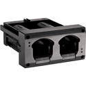 Shure AXT902 Axient Digital 2-Battery Charging Module for AXT920 Handheld Batteries - Fits Into SBRC-US Rack Charger
