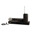 Shure BLX1288/CVL Dual Channel Combo Wireless System - H9 512-542 MHz