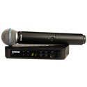Shure BLX24/B58-J10 BETA58 Handheld Wireless Mic System - J10 584-608 MHz