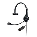 Shure BRH31M-NXLR4M Lightweight Single-Sided Broadcast Headset with Neutrik Male 4-Pin XLR Cable