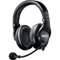 Shure BRH440M-LC Dual-Sided Broadcast Headset Less Cable