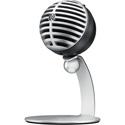 Shure MV5-DIG Cardioid Condenser Digital USB Microphone - Silver
