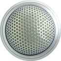 Shure MX395AL/C Microflex Low Profile Boundary Mic - Cardioid/Aluminum/3-Pin XLR