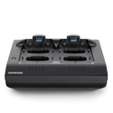 Shure MXWNCS4 4 Channel Networked MXW Wireless Microphone Charging Station