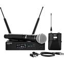 Shure QLXD124/85-G50 Combo Lav & SM58 Digital Wireless Mic System 470-534MHz