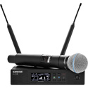 Shure QLXD24/B58-V50 Beta 58 Vocal System 174MHz - 216MHz