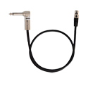 Shure WA304 Right Angle Guitar Cable 2 Ft.