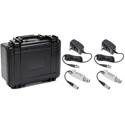 Multidyne SilverBullet Mini 3G HD/SDI Fiber Optic Link Kit - Transmitter/Receiver  & Case