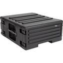 SKB 1SKB-R4UW 4U Space Rack Stacks with Roto Racks Wheels and Handle