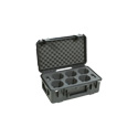 SKB 3I-20118LENS iSeries-For 6 Canon Cinema Prime Lenses (Airline carry-on size)