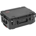 SKB 3i-2215-8B-C iSeries 2215-8 Waterproof Utility Case w/ Wheels & Cubed Foam - 22 Inch x 13 Inch x 12 Inch