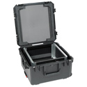 SKB 3I-22221210U iSeries Case with Removeable 10U Shallow Rack Cage TSA Locks Wheels