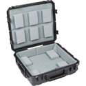 SKB 3i-2421-7LT iSeries Case with Think Tank Designed padded Liner