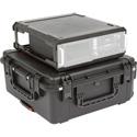 SKB 3I-2424M103U 3U iSeries Injection Molded Fly Rack Case - 20 Inch